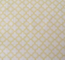 Sorbets QT Basics BTY Quilting Treasures Yellow Geo Lattice