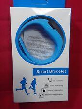 Fitness Tracker Smart Bracelet: Monitors Steps, Calories & More! - Bright Blue