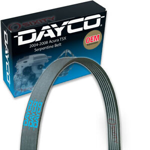 Dayco Main Drive Serpentine Belt for 2004-2008 Acura TSX Accessory Drive qh