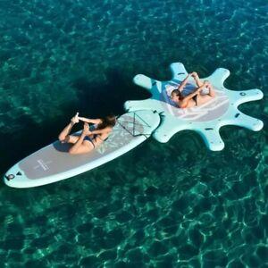 dock for yoga board 290cm AQUA MARINA DHYANA yoga surfboard SUP stand up paddle