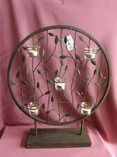Unbranded Tea Light Metal Candle Holders & Accessories