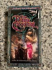 The Dark Crystal (VHS, 1999, Closed Captioned) Brand New