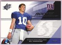 ELI MANNING RC 2004 SPX ROOKIE SWATCH SUPREMACY JERSEY GIANTS