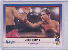 1991 KAYO JOHN MOLINA BOXING CARD #153 ~ PUERTO RICO