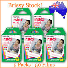 50 Films | Fujifilm Instax Film Mini Sheet for Polaroid | Expiry 4 2016 | Sealed