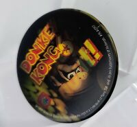 1999 Nintendo Rare Donkey Kong 64 Promotional Lenticular Button Ask me about!