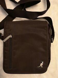 Kangol brown gents Bag. New. No tags