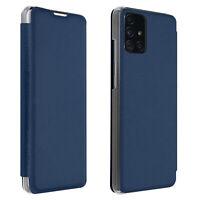 Custodia Samsung Galaxy A71 Portafoglio Flip Cover Sottilissimo - Blu
