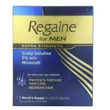 Regaine for Men Extra Strength Scalp Solution 1 Month Supply 60ml Exp 05 2020