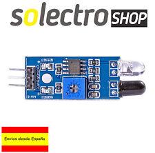 Modulo sensor infrarrojo IR Detector obstaculos robot coche smart Arduino S0011