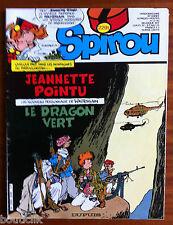a) SPIROU n°2291;  sans le poster/ Annie Fratellini/ Popeye