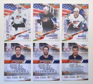 2021 BY cards IIHF World Championship Team USA BASE Pick a Card