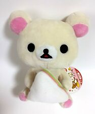 Rilakkuma Korilakkuma White Relax Bear Plush Doll Sandwich San-x Japan Import
