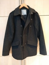 Fly 53 Men's Military Style Jacket. Grey. Size M. 30% wool