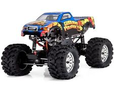 1:10 Ground Pounder RC Monster Truck 4WD Electric Motor 2.4GHz Blue