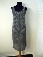 Anthropologie Ethic Brand Beaded Flapper 1920s Dress – size Medium