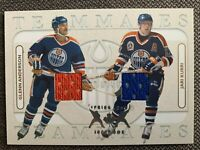 2004-05 ITG NHL FRANCHISES SERIES GOLD ANDERSON/KURRI /20 JERSEY TEAMMATES SP