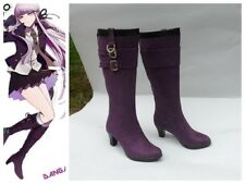 Danganronpa Dangan Ronpa Kirigiri Kyoko Cosplay Boots Boot Shoes Shoe UK