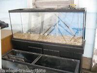 62% OFF - 55-gallon GLASS Aquarium - Small Pet / Reptile / Fish Tank - Pro Grade