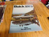 1973 Buick Sales Brochure Literature