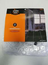 Hyde and Eek! Indoor/Outdoor Mega Spiderweb ~25 Feet~ Comes with 7 Stakes (A14)