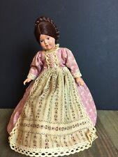 """Vintage Hard Plastic Doll 9"""""""