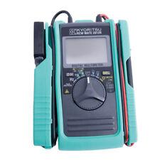 New Kyoritsu 2012r Acdc Digital Multimeter With Dc Amps Kew Mate 2012r