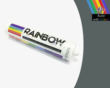 Basalt Grey Colour Silicone Sealant Rainbow 310ml RAL 7012 Indoor & Outdoor use