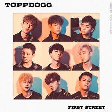 TOPPDOGG - [FIRST STREET] 1st Album CD+108p Foto Buch+1p Foto Karte K-POP Sealed
