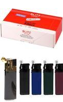 Blitz Pfeifenfilter Aktivkohlefilter 9 mm 200 Stk. + 1 Pfeifenfeuerzeug Gratis