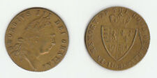 King George III Brass Gaming Token dated 1768