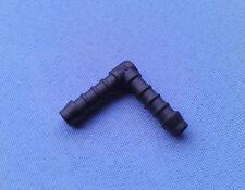 (2746) 1x Schlauchverbinder RGV 8 mm / 39,5-41,5 mm schwarz Kunststoff Winkel