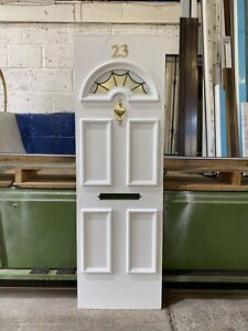 UPVC Door Panel, New, White, 565mm Wide 1775mm Height, 28mm Thick (P216)
