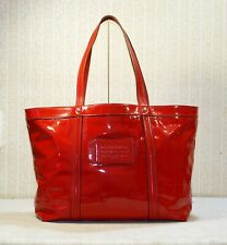 1850$ DOLCE & GABBANA miss bye bye red patent leather large shopping tote bag