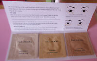 TATCHA The Pearl Eye Treatment MOONLIGHT,SOFTLIGHT,CANDLELIGHT Trial Packettes