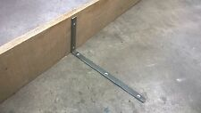Industrial metal Shelf Brackets - Handmade at The Iron Mill UK - 1x Pair 20x40cm