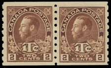 "CANADA MR7a - King George V ""Admiral"" War Tax - Brown Die I (pf40607) $500"