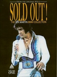 Elvis Presley 2 DVD Set Sold Out Vol. 1 - The Rex Martin 8MM Collection - NEU