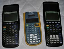 Lot Of 2 Texas Instruments Ti-83 Plus Graphing Calculator and Ti-30Xs For Parts