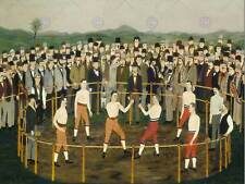 GEORGE HAYES AMERICAN BARE KNUCKLES OLD ART PAINTING POSTER PRINT BB5456B