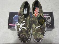 Vans Authentic Star Wars Boba Fett Camo 4501348831 VN-0W4NDJH Size 11 Sneakers