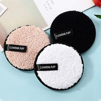 Microfiber Cloth Pads Makeup Remover Puff Face Cleansing Towel Reusable Cleanser