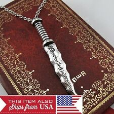 Once Upon a Time Rumplestiltskin Dagger Cosplay Pendant Mr. Gold, Silver, Alloy