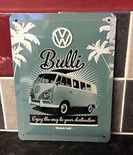 Volkswagen Split Screen Metal Sign Medium Vintage Retro Tin Signs Official