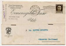 ERMENEGILDO FUSO RIFREDI FIRENZE CONSERVE ALIMENTARI 1939