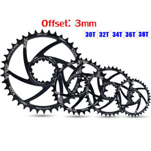 Discs Narrow Wide Offset 3MM Chainwheel Tooth Plate Cranksets Plate Chainring