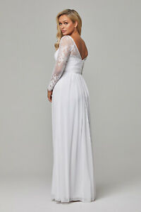 Tania Olsen Wedding Dress with sleeves New with tags size 12