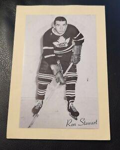 1944-63 Beehive Photos Ron Stewart Leafs Group 2 Please read!