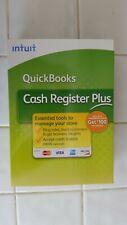 QuickBooks Cash Register Plus Software 2009 Version