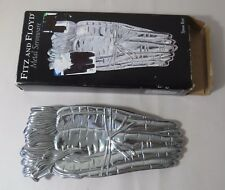 Fitz & Floyd Metal Serveware Spoon Rest - Carrots - In Original Box